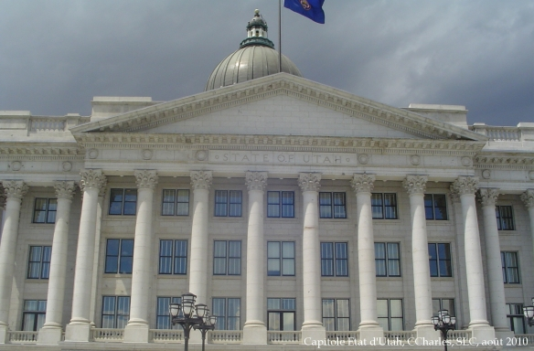 Capitole Etat d'Utah, SLC 2010